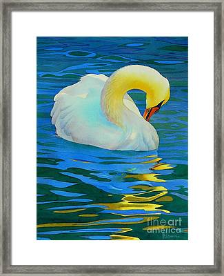 Morning Bath Framed Print by Robert Hooper