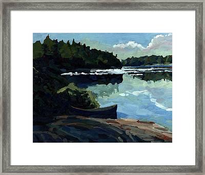 Morning Beach Framed Print