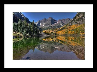 Crested Butte Framed Prints