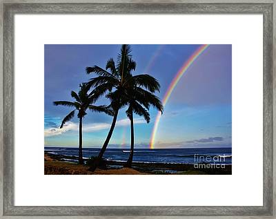 Morning Blessing Framed Print