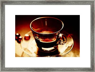 Morning Bliss Framed Print by Jenny Rainbow