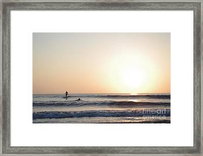 Morning Brakes Framed Print by Thomas Chorbak