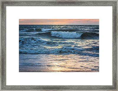Morning Breakers Framed Print