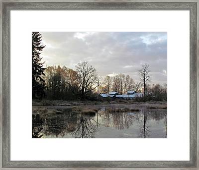 Morning Breaking Framed Print