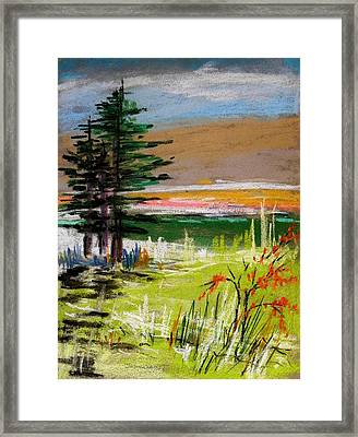 Morning Breakthrough Framed Print by John Williams
