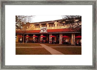 Morning Call In The Oaks - New Orleans City Park Framed Print