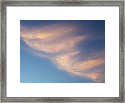 Morning Clouds Framed Print