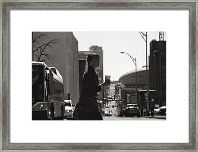 Morning Coffee At Starbucks In Nashville Framed Print by Dan Sproul