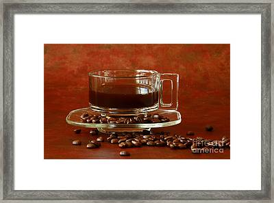 Morning Coffee Framed Print by Inspired Nature Photography Fine Art Photography