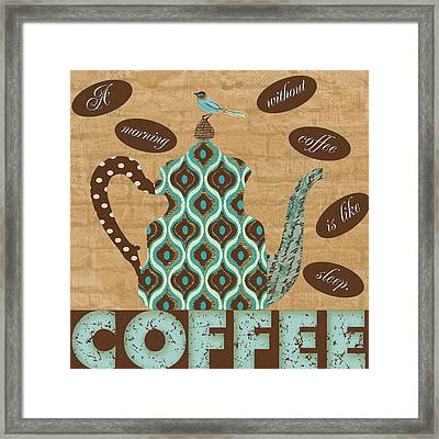 Morning Coffee Framed Print by Marilu Windvand