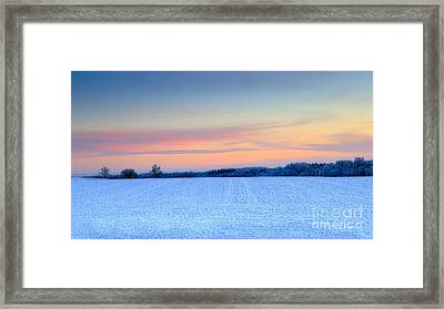 Morning Colors Framed Print by Mario Mesi