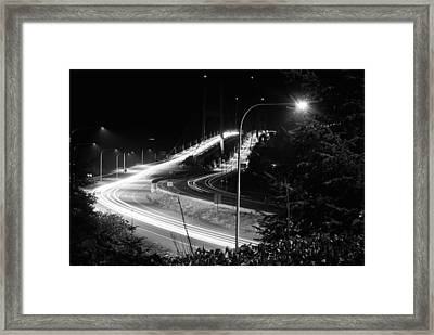 Morning Commute Framed Print by John Rossman