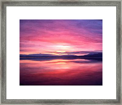 Morning Dawn Framed Print by Michael Pickett