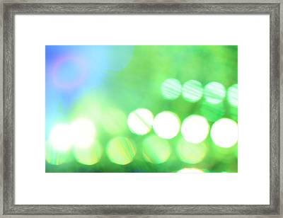 Framed Print featuring the photograph Morning Dew by Dazzle Zazz