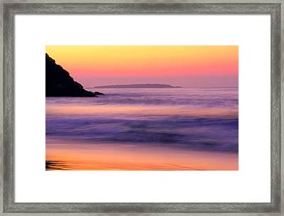 Morning Dream Singing Beach Framed Print