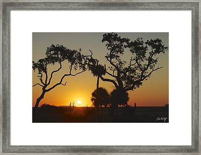 Morning Eclipse Framed Print by Phill Doherty