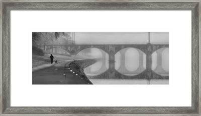 Morning Exercise Framed Print by Lori Deiter