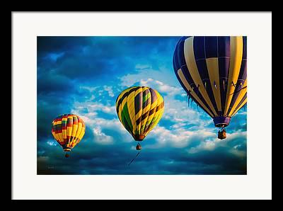 Great Falls Balloon Festival Framed Prints