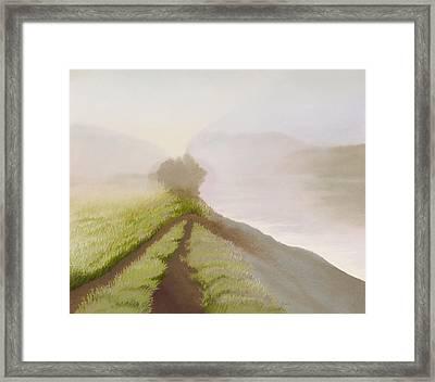 Morning Fog Framed Print by Bruce Richardson