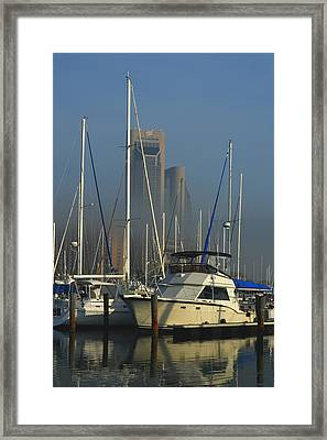 Morning Fog Ll Framed Print by Leticia Latocki