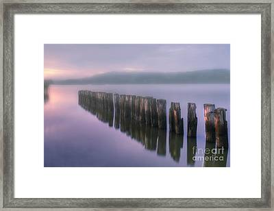 Morning Fog Framed Print by Veikko Suikkanen