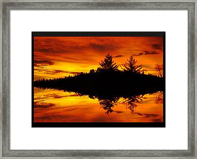Morning Glory Framed Print by Kevin Bone