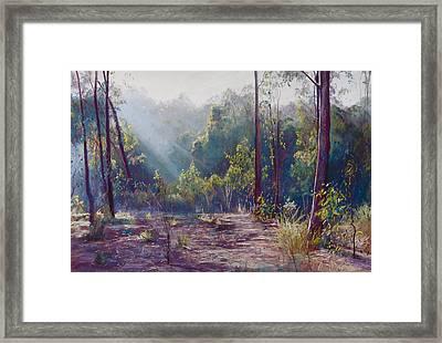 Morning Glory Framed Print by Lynda Robinson