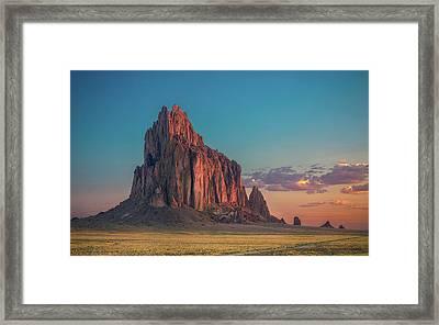 Morning Glory On Tse' Bit' Ai' Framed Print