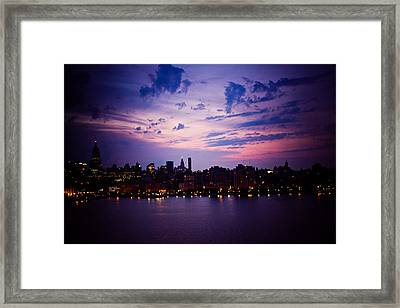 Morning Glory Framed Print by Sara Frank