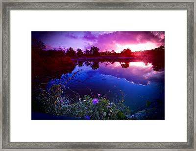 Morning Glory Sky Framed Print