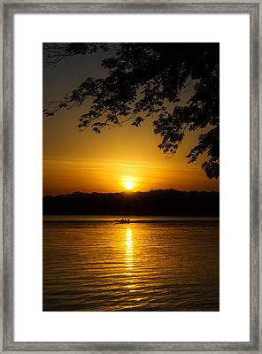 Morning Glow Framed Print by Dan Holland