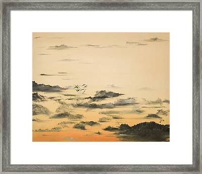 Morning Glow Framed Print by Jane Autry