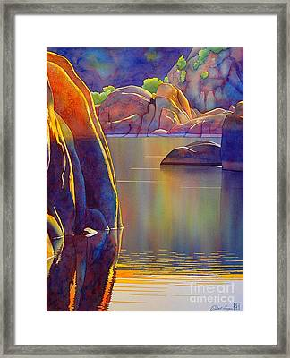Morning Glow Framed Print by Robert Hooper