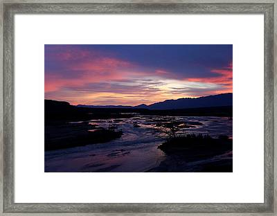 Framed Print featuring the photograph Morning Glow by Tammy Espino