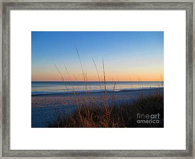 Morning Has Broken At Myrtle Beach South Carolina Framed Print