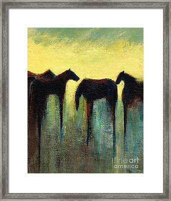 Morning Has Broken Framed Print by Frances Marino