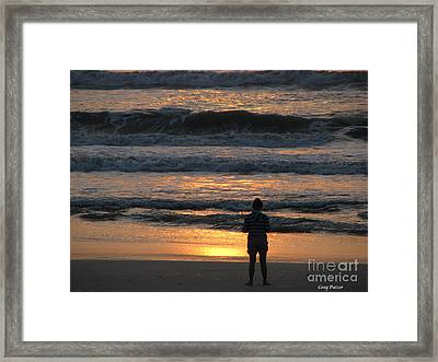 Morning Has Broken Framed Print by Greg Patzer
