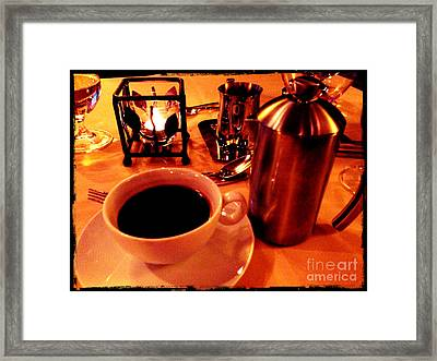 Framed Print featuring the photograph Morning Has Broken by Leslie Hunziker