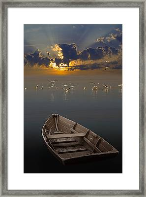 Morning Has Broken Like The First Morning Framed Print by Randall Nyhof