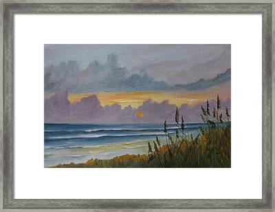 Morning Has Broken Framed Print by Rosie Brown