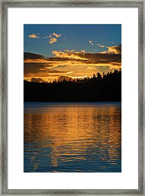 Framed Print featuring the photograph Morning Has Broken by Sherri Meyer