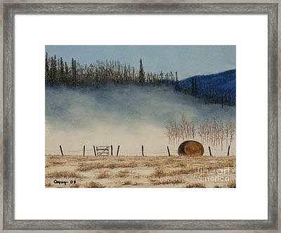 Morning Has Broken Framed Print by Stanza Widen