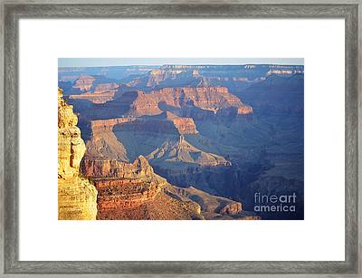Morning Hues Over Grand Canyon National Park Framed Print by Shawn O'Brien