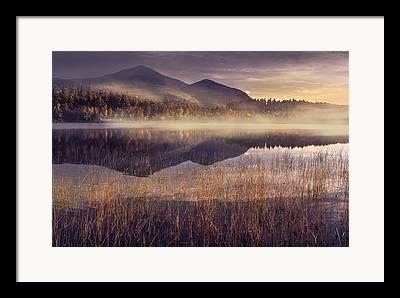 Fog Mist Framed Prints