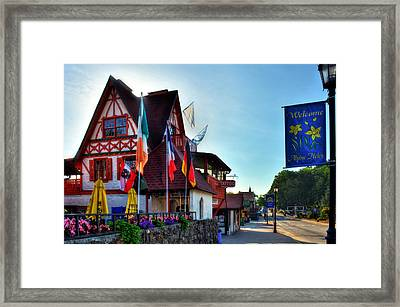 Morning In Alpine Helen Framed Print