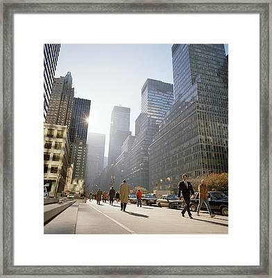 Morning In America Framed Print by Shaun Higson