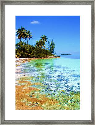 Morning In Andros  Framed Print by Victor Minca