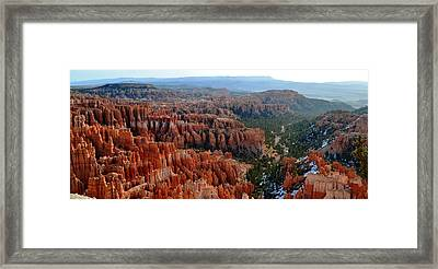 Morning In Bryce Canyon Framed Print by Rincon Road Photography By Ben Petersen