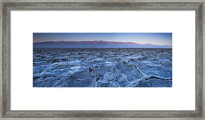 Morning In Death Valley Framed Print by Andrew Soundarajan