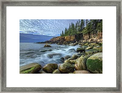 Morning In Monument Cove Framed Print by Rick Berk